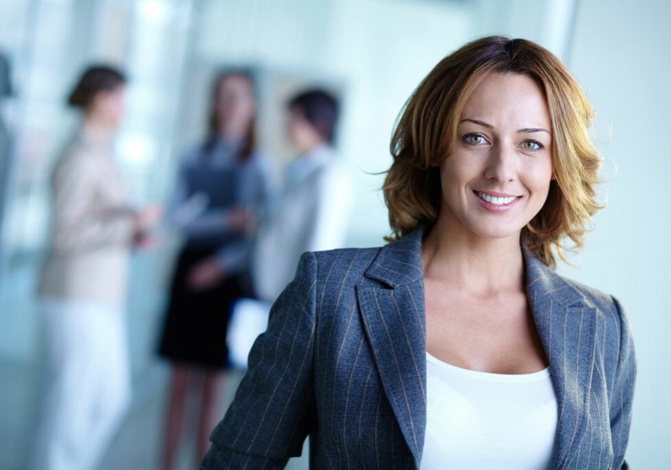 Confident Business Woman Who Uses Her Intuition To Make Important Business Decisions Scaled